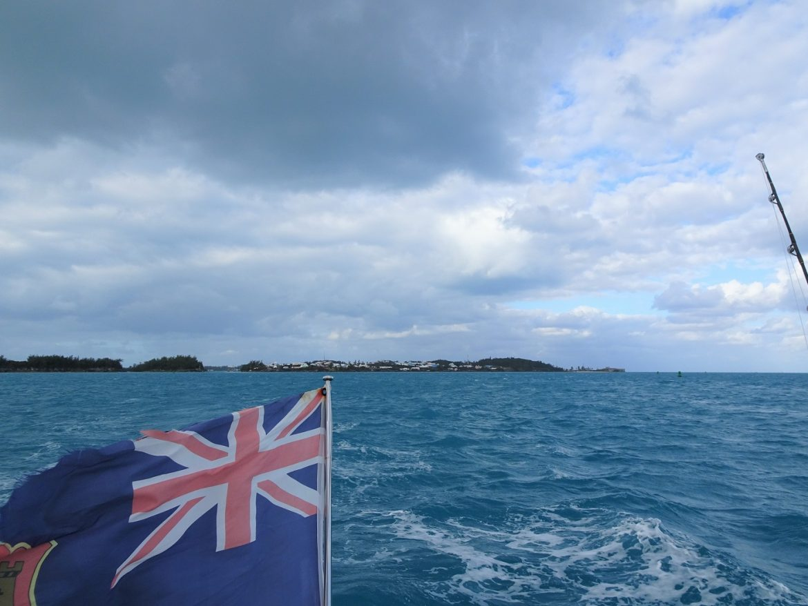 Start passage Bermuda to Antigua