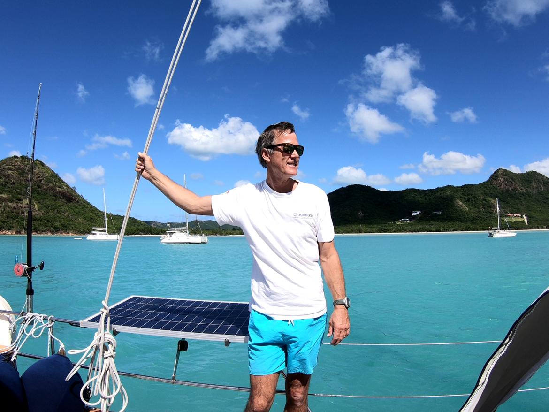 Last bit, arriving Antigua