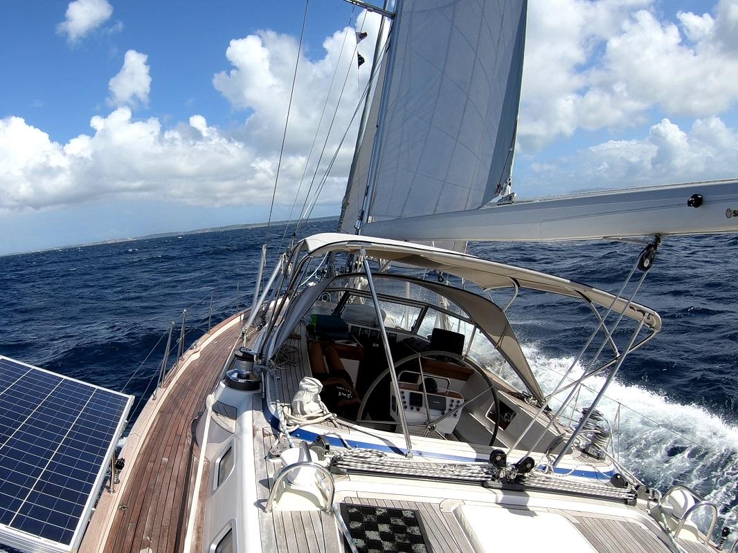Sailing to Anguilla