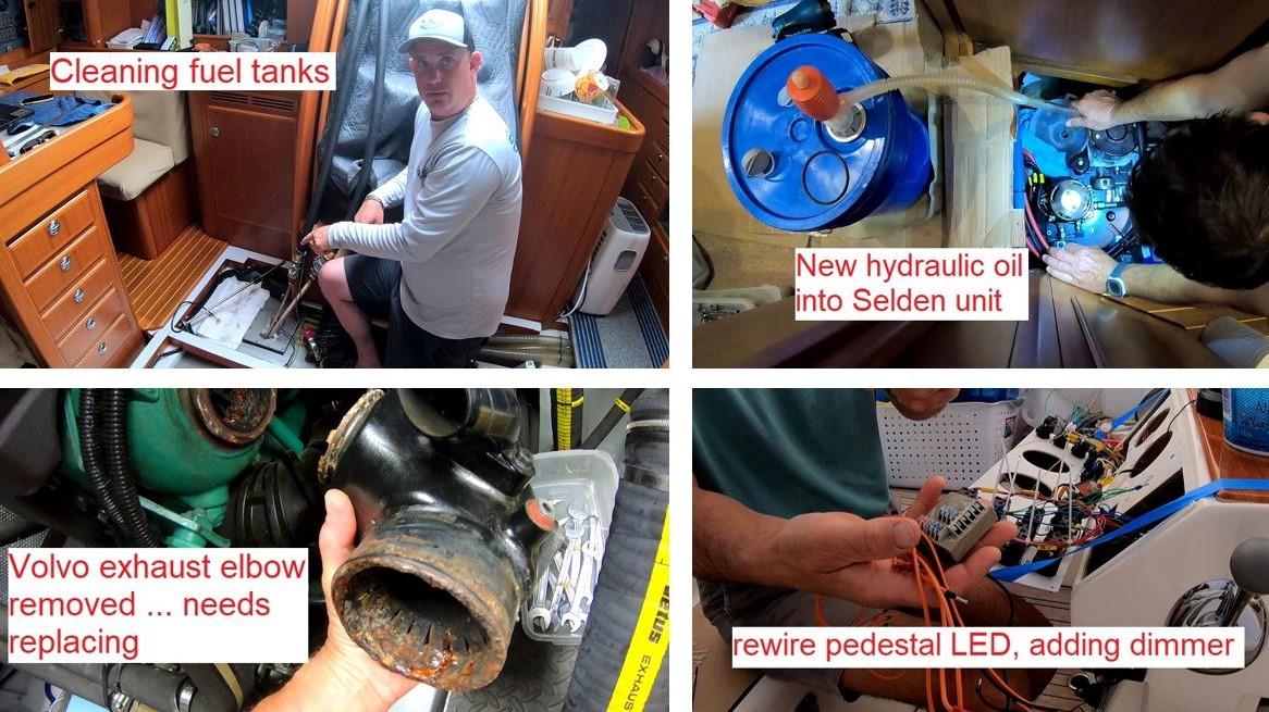 boat maintenance summary